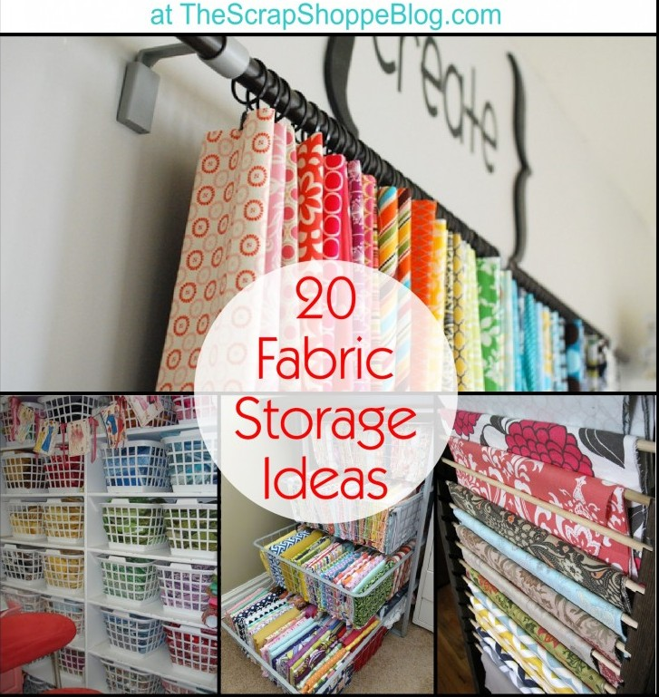 Awesome Fabric Storage Ideas The Daily Seam